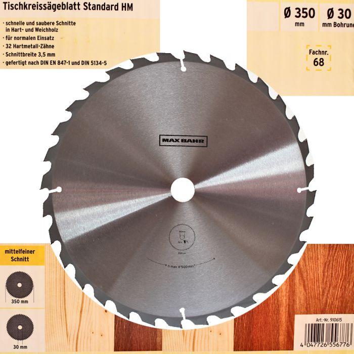 zu Bosch Max Bahr Kreissägeblatt Hartmetall HM Holz Ø127mm Ø350mm