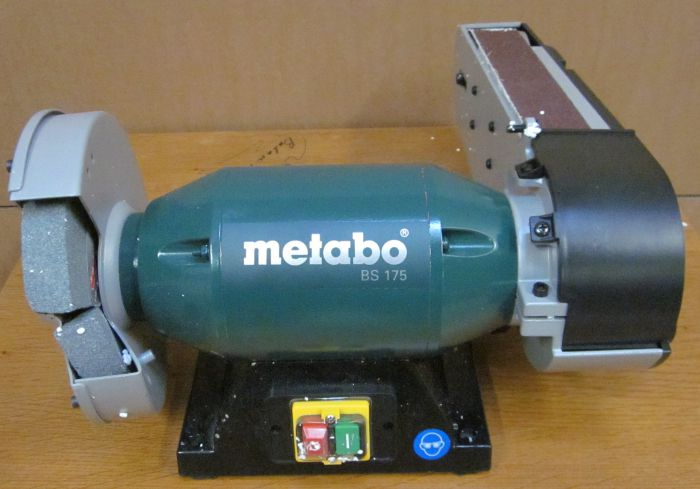 metabo 601750000 kombi bandschleifmaschine 500 watt bs 175. Black Bedroom Furniture Sets. Home Design Ideas
