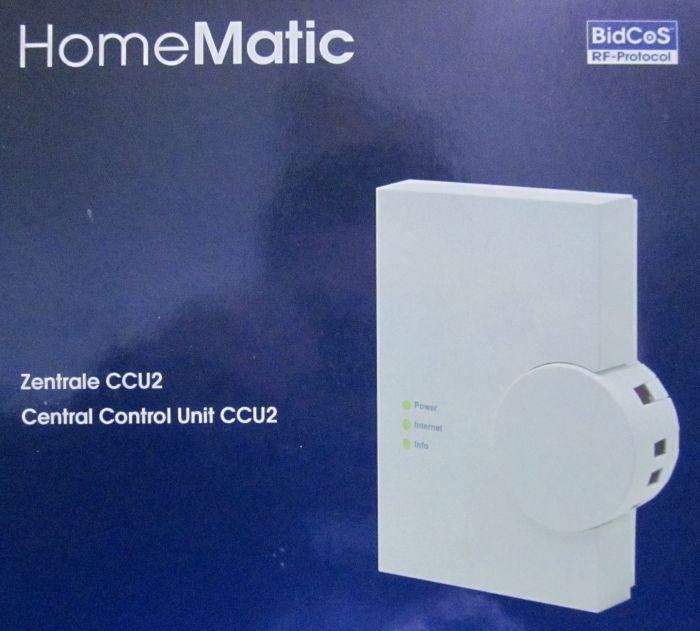 homematic 103584 zentrale haussteuerung ccu2 wei ebay. Black Bedroom Furniture Sets. Home Design Ideas