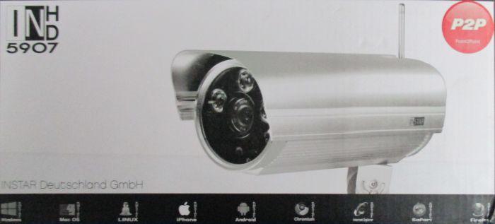 instar wlan ip kamera f r au enbereich in 5907hd wdr bildsensor 3x high power ir ebay. Black Bedroom Furniture Sets. Home Design Ideas