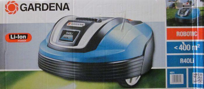 gardena m hroboter r40li 4071 20 rasenm her akku roboter. Black Bedroom Furniture Sets. Home Design Ideas