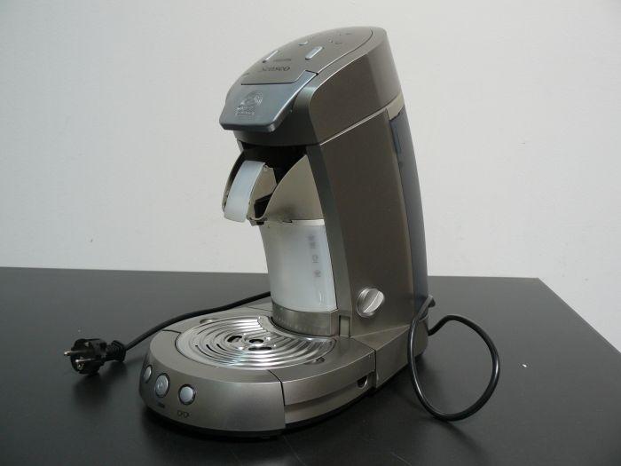 philips hd 7852 50 senseo kaffeepadmaschine titan silber defekt ebay. Black Bedroom Furniture Sets. Home Design Ideas
