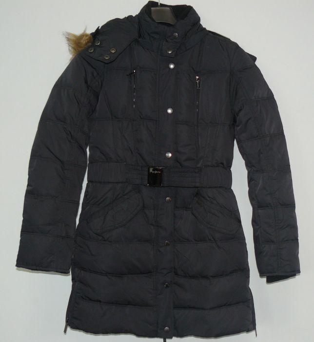 pepe jeans damen mantel jacke daunenjacke parka kurzmantel. Black Bedroom Furniture Sets. Home Design Ideas