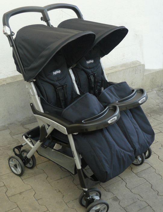 peg perego kinderwagen buggy zwillinge zwillingsbuggy aria. Black Bedroom Furniture Sets. Home Design Ideas