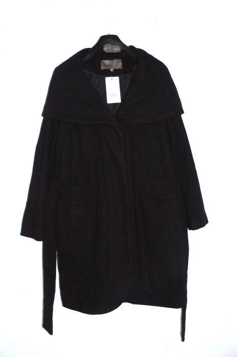 mint berry damen wollmantel mantel jacke m3221h019 503 schwarz gr xl ebay. Black Bedroom Furniture Sets. Home Design Ideas