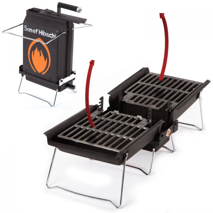 son of hibachi 110 100 koffergrill klappgrill. Black Bedroom Furniture Sets. Home Design Ideas