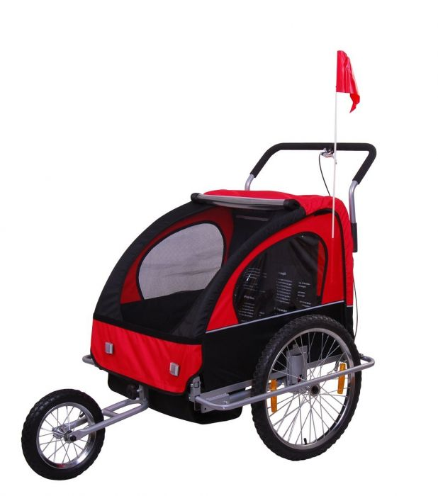 vivafit 2in1 jogger fahrradanh nger kinderwagen kinderanh nger fahrrad anh nger ebay. Black Bedroom Furniture Sets. Home Design Ideas